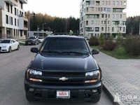 Продажа б/у Chevrolet Trailblazer (Шевроле Трейлблейзер) 4.2 AT 2003 в Москве за 477000 Р